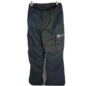 Burton DryRide Snowboard/Ski Room to Grow Pants Youth XL US 18 Black