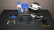 Playstation 4 Pro im Paket mit VR-Brille, Spielen, Motion Controllern, Kamera