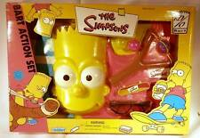 The Simpsons Bart Action Set - Play Dress-Up with Slingshot Mask Ages 5+ c.2000