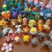 Hot Wholesale Mixed Lots 24pcs Pokemon Mini Pearl Figures Kids Children Baby Toy
