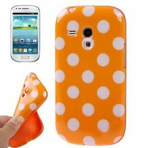 Smartphone Case For Phone Samsung Galaxy S3 Mini I8190 Case Cover Bumper Orange