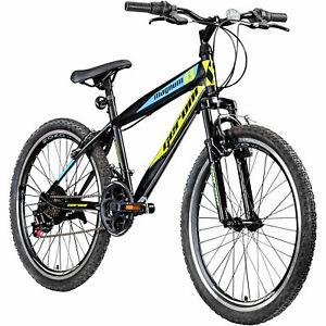 """Jugendfahrrad 24 Zoll Mountainbike Fahrrad 24"""" Geroni Magnum Hardtail MTB Jugend"""