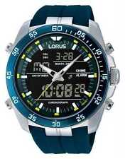 Lorus Men's Digital Wristwatches with Chronograph
