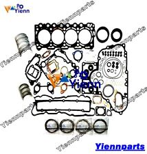 V3307-DI-TE3 Re-ring Kit Gasket Bearing For Kubota S650 T630 T650 S630 Loader