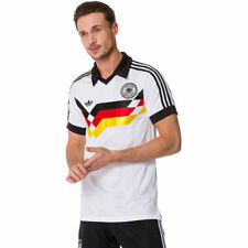 Adidas Originals Germany DFB Deutschland Weltmeister Trikot Retro Polo T-Shirt