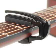 Guitar Capo Clamp for Acoustic Electric Guitar in Black Music