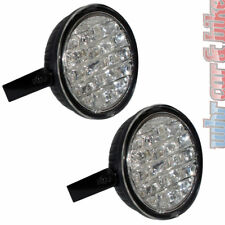 Eufab 12V / 24V LED Tagfahrlicht Tagfahrleuchten rund 90mm 2x 18 LED's R87 E4