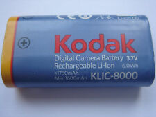 Batterie D'ORIGINE KODAK KLIC-8000 3.7V 1780mAh 6.0Wh GENUINE Battery ACCU NEUVE