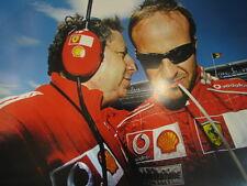 Poster Marlboro Ferrari F2004 2004 Jean Todt / Rubens Barrichello extra dik