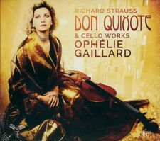 RICHARD STRAUSS  don quixote & cello works  OPHÉLIE GAILLARD