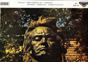 BEETHOVEN PIANO CONCERTO NO.5-BACKHAUS&SCHMIDT-ISSERSTEDT.