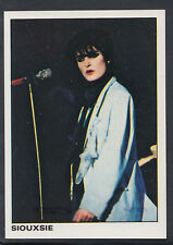 Panini 1980 Rock & Pop Collection - Sticker No 84 - Siouxsie  (T676)