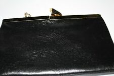 Vintage Etra Leather Clutch with Shoulder Chain