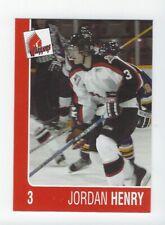 2004-05 Moose Jaw Warriors (WHL) Jordan Henry (Brampton Beast)