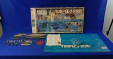 Vintage Torpedo Run Floor War Series Game Milton Bradley 1986