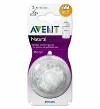 Philips AVENT Fast Flow Teat 6months - Pack of 2