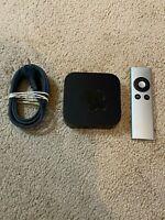 Apple TV (3rd Generation) HD Media Streamer -- Bundle.- Fully Functional