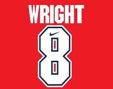 Wright #8 Arsenal Camisa de fútbol local para hogar 1994-1995
