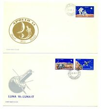 ROMANIA 1971 5 x COVER - SPACE- SATELITE --MOST VF