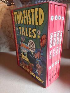 Two-Fisted Tales Russ Cochran 1980 EC Complete 4 Vol Set w Slipcase