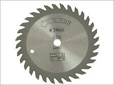 Black & Decker - Circular Saw Blade 140 x 12.7mm x 32T Fine Cross Cut