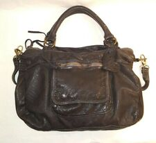 MONI MONI Splendor Black Leather Handbag