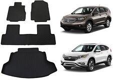 Genuine OEM Front, Rear & Cargo Floor Mats For 2012-2016 Honda CR-V CRV New USA