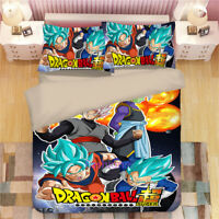 Dragon Ball Single/Double/Queen/King Bed Doona/Quilt/Duvet Cover Set Pillowcase