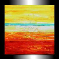 Acrylgemälde Malerei handgemalt Kunst Unikat  100 x 100 x 4 cm  Zenic XXL