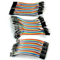 40PCS 2.54MM 1P-1P Dupont Wire Male Female Cables Jumpers 10CM Fit For Arduino