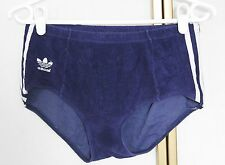 VINTAGE 70 s 80 s Adidas velours de coton Sprinter Swim Gym Short W. Germany D4 S