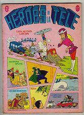 HÉROES DE LA TELE nº: 17 (de 40 de la colección completa) ERSA, 1977
