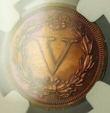 1868 Nickel Pattern Proof 5c Copper Coin NGC PF-61 BN Toned J-634 Judd WW
