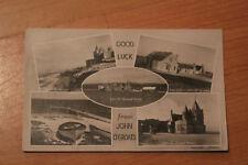 Postcard - Good Luck from John O'Groats, Caithness RP Multiview Postcard