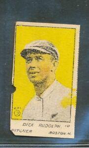 "1921 W516-2-2: Dick Rudolph ""Boston Braves"" #16"