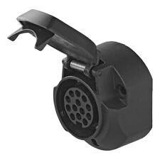 ProPlus Steckdose 13-polig Jaeger mit Mikroschalter 7 Cm schwarz