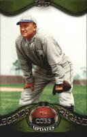 2009 TOPPS LEGENDS OF THE GAME #LGU04 TY COBB
