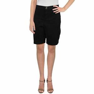 MSRP $60 Calvin Klein Bermuda Shorts Black Size 16