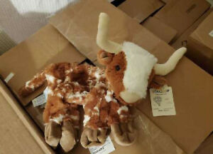 Build A Bear Longhorn Unstuffed Brand New With Tags