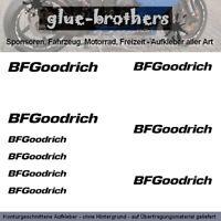 BFGoodrich Aufkleber Farbauswahl Autoreifen Sticker Sport Tuning Emblem Decal