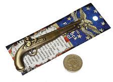 American Revolutionary War Miniature Model Flintlock Pistol 4 Inches 10cm Length