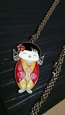 Asian Necklace with Girl Pendant