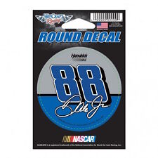 "2016 DALE EARNHARDT JR  #88 NATIONWIDE 3"" NASCAR ROUND DECAL STICKER"
