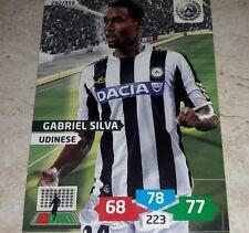 CARD ADRENALYN 2013/14 CALCIATORI PANINI UDINESE GABRIEL SILVA CALCIO FOOTBALL