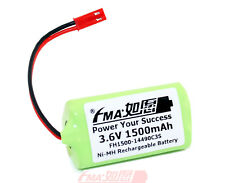Ni-MH 3.6V 1500mAh Battery for Flashlight EURO PRO Shark V1705 Model Toys AA_3ST