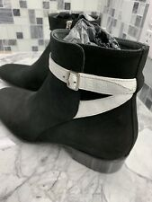 b1f33bbee8aa1 New ALEXANDER McQUEEN Men s Black Suede Ankle Boots Shoes EU43 US 10  1299  Italy
