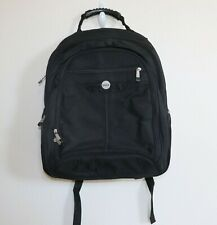 DELL Backpack Large Black Heavy Duty  Overnight Bag  17 inch Laptop very clean