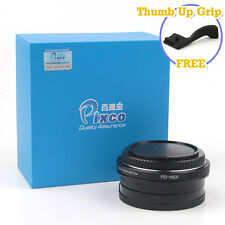 Camera Speed Booster Focal Reducer Adapter For Canon FD Lens to Sony NEX 7 A6000