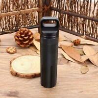 Mini EDC Survival Equipment Wasserdichte Box Notfall-Outdoor-Werkzeuge M0W5