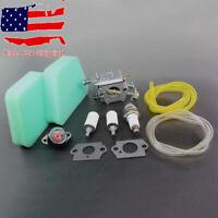 Carburetor Tune Up Kit For Walbro WT-324 WT-624 Carb Craftsman Poulan Air Filter